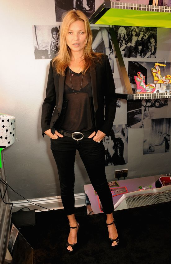 Kate Moss in YSL