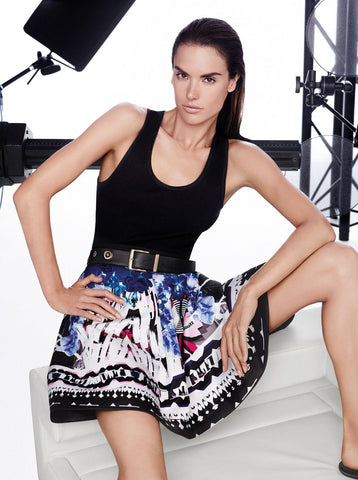 Alessandra Ambrosio fronted the SS 2014 collection