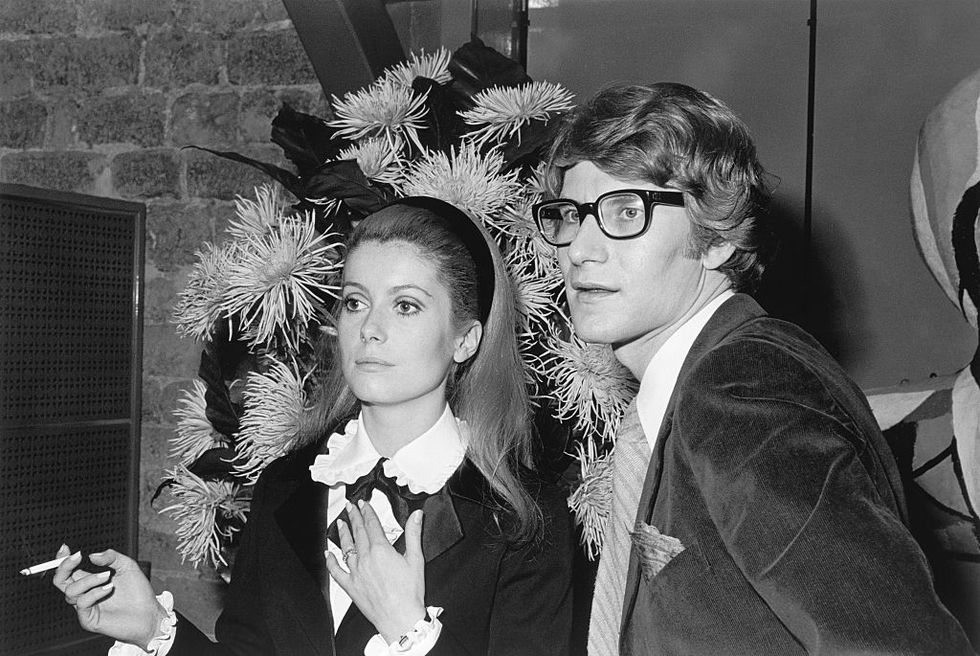 Yves Saint Laurent iconic moments