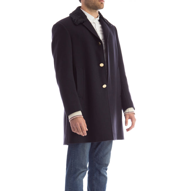 Thom Browne Classic Wool Coat-THOM BROWNE-SHOPATVOI.COM - Luxury Fashion Designer