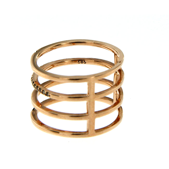 De Maria Jewelry 14k Gold Ring
