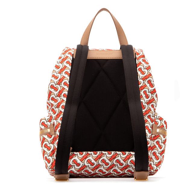 Burberry Printed Fabric Backpack
