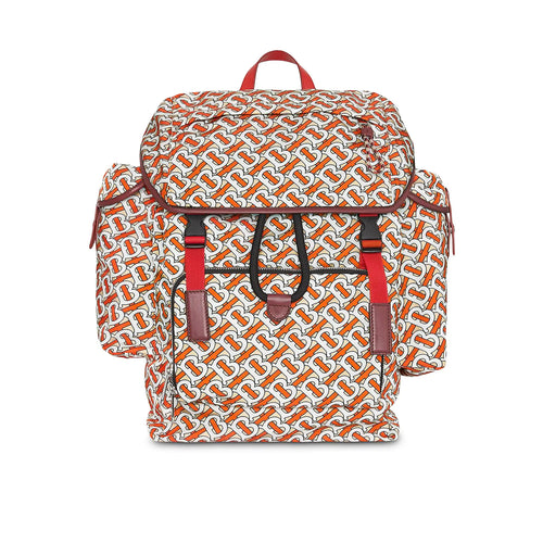 Burberry Printed Vermillion Backpack