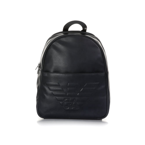 Emporio Armani Logo Backpack-EMPORIO ARMANI-SHOPATVOI.COM - Luxury Fashion Designer