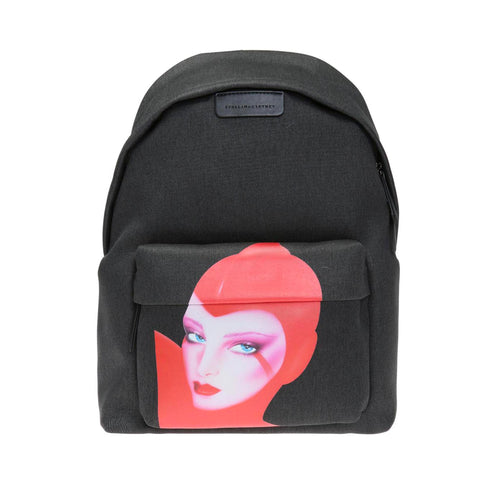 Stella Mccartney Printed Cotton Backpack