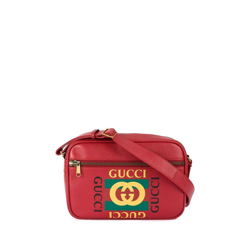 Gucci Messenger Leather Bag