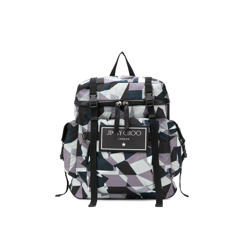 Jimmy Choo Wixon Logo Backpack