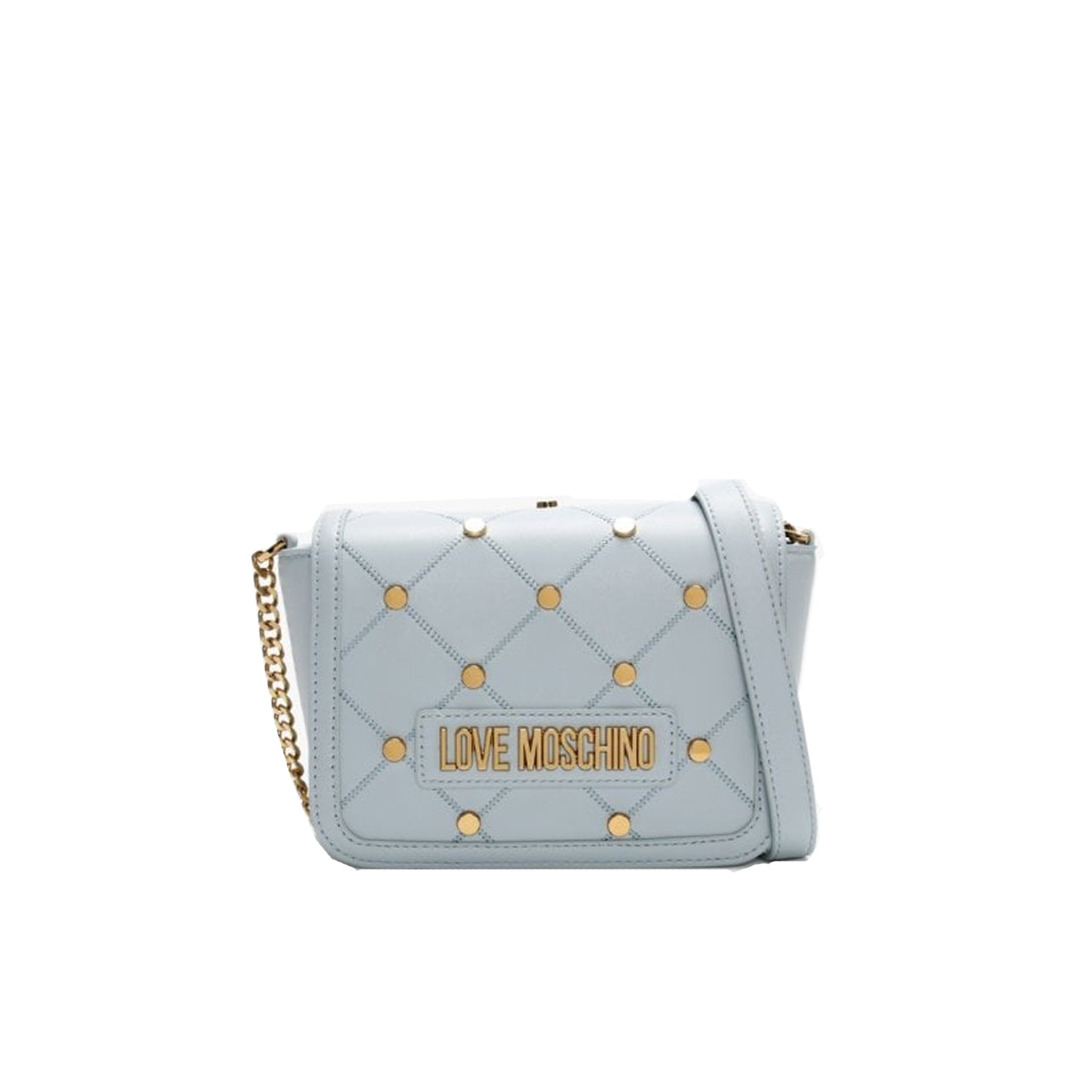 Love Moschino Studded Shoulder Bag