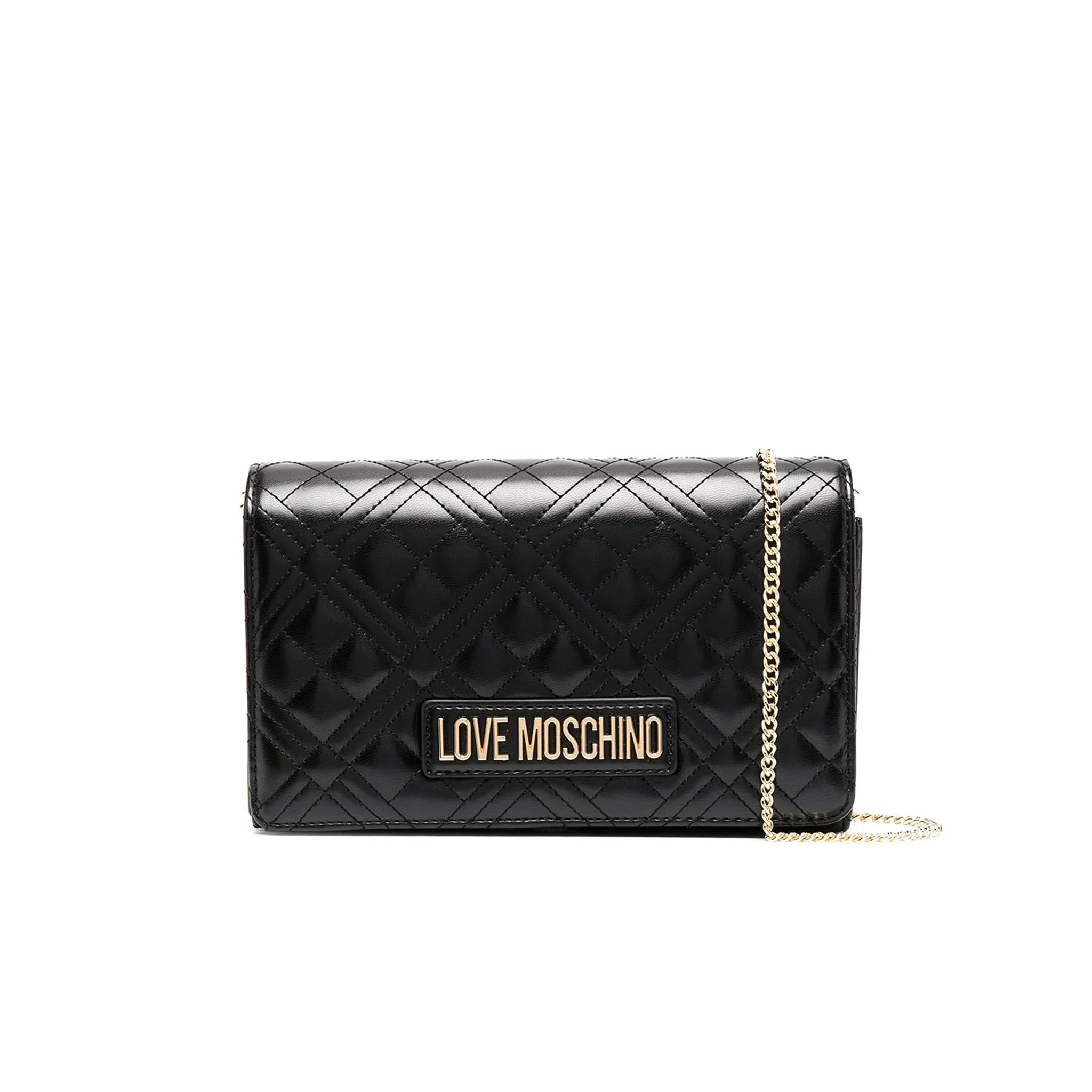 Love Moschino Diamond Pattern Evening Clutch
