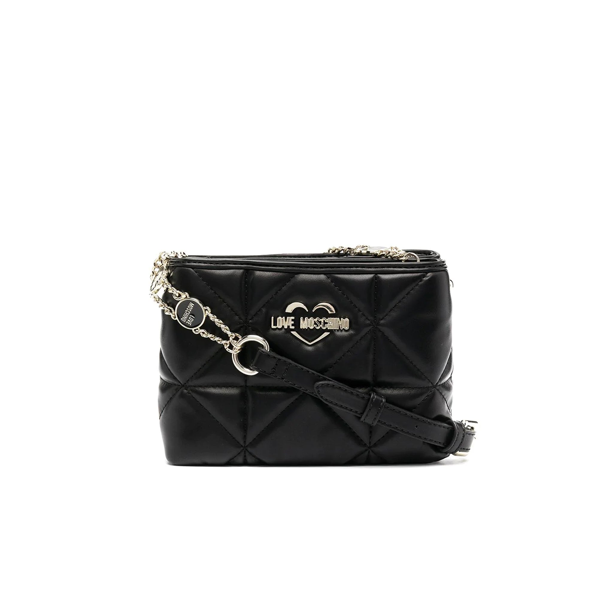 Love Moschino Double-Pouch Crossbody Bag