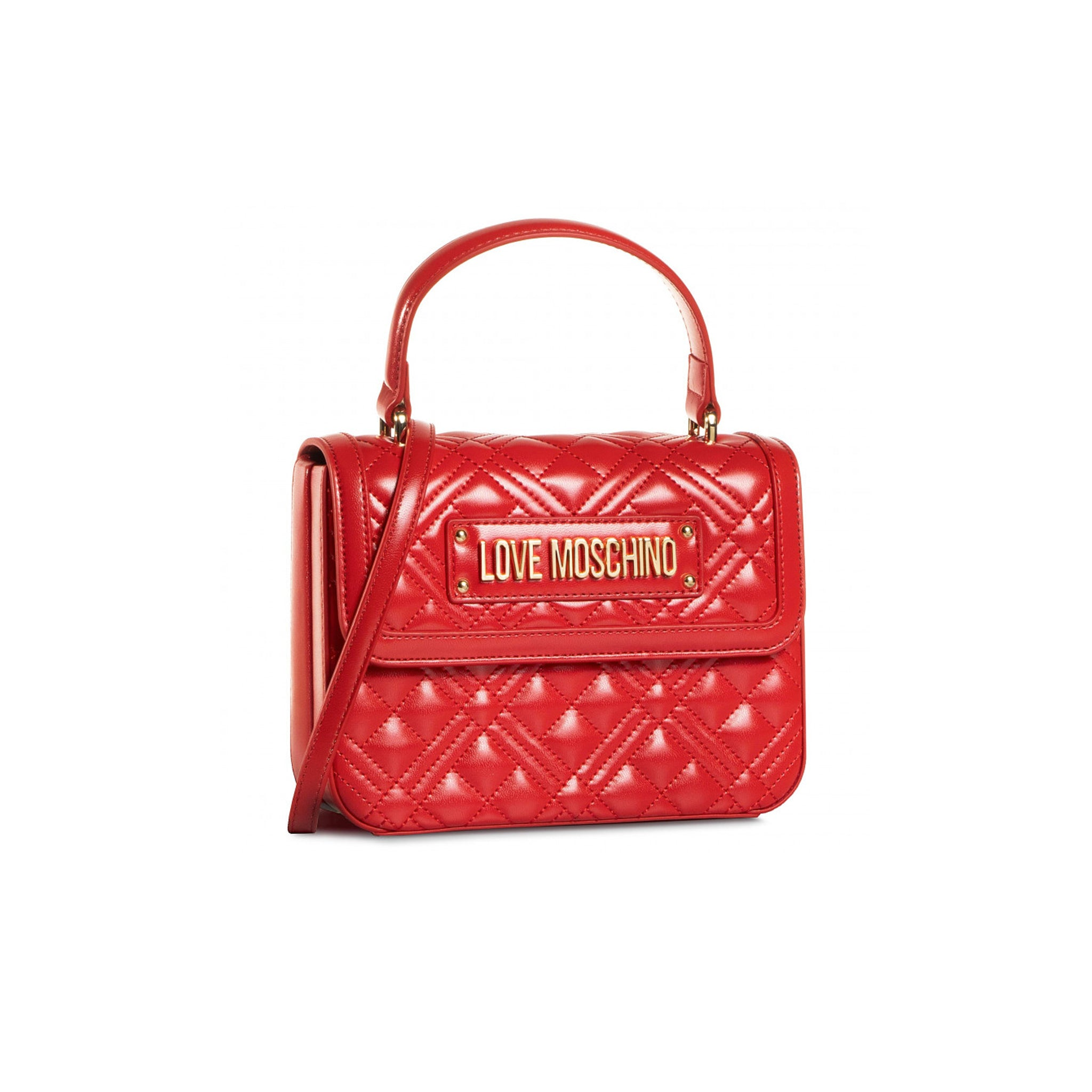 Love Moschino Quilted Logo Handbag