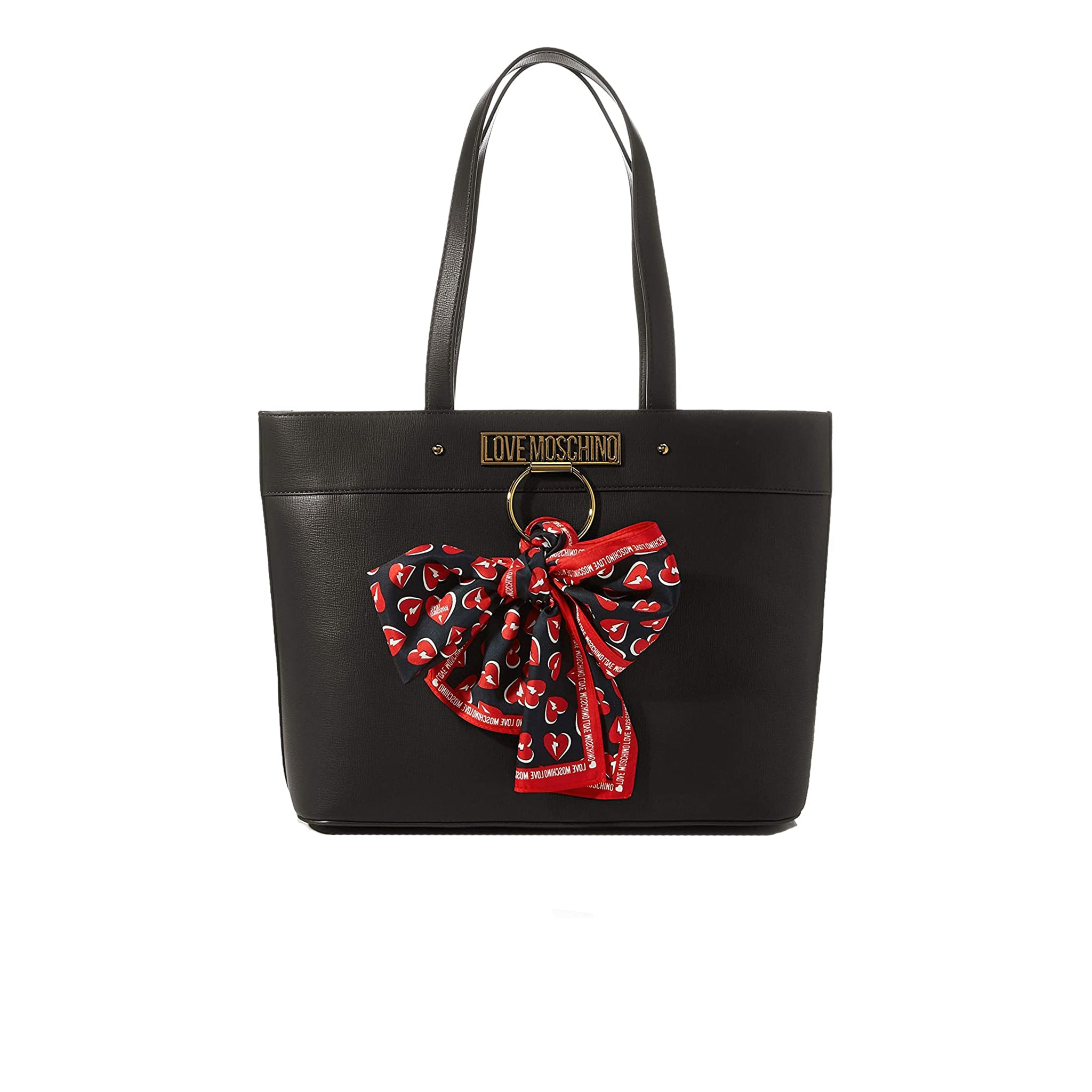 Love Moschino Logo Shopper Tote Bag