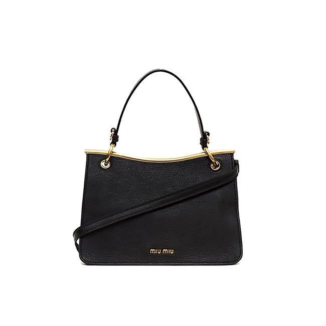 Miu Miu Top Handle Leather Bag