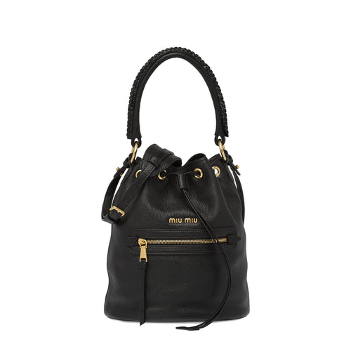 Miu Miu Top Handle Bucket Bag