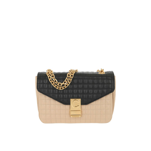 Celine Quilted Shoulder Bag