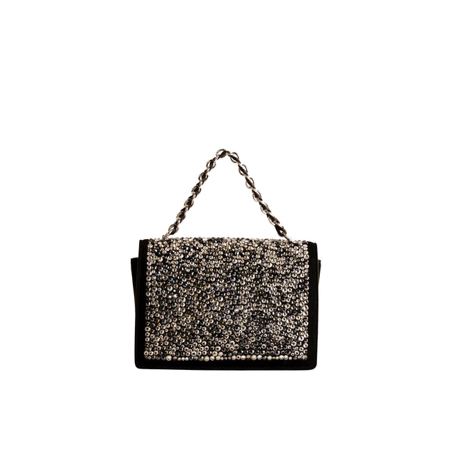 Salvatore Ferragamo Ginny Rhinestones Mini Bag