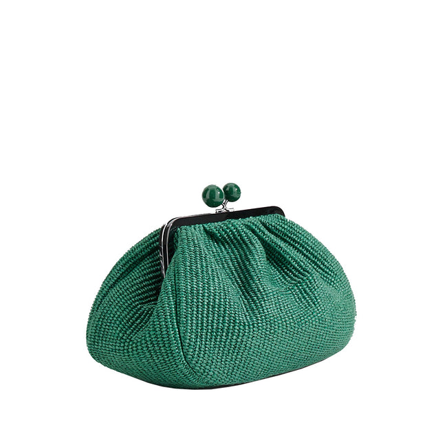 Max Mara Weekend Livia Raffia Pasticcino Bag