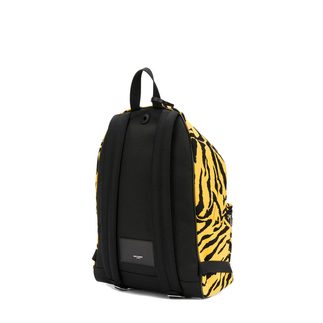 Yves Saint Laurent City Animal Print Backpack