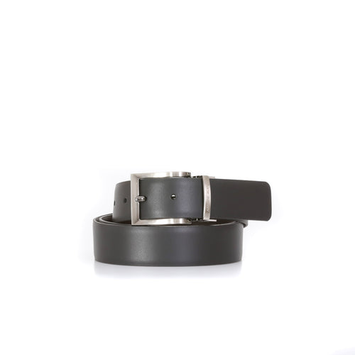 Armani Jeans Reversible Buckle Leather Belt