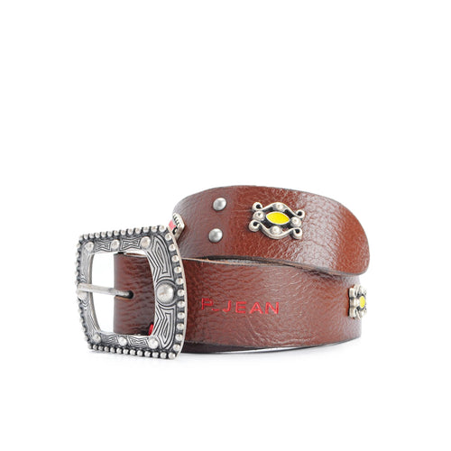 Pinko Studded Leather Belt