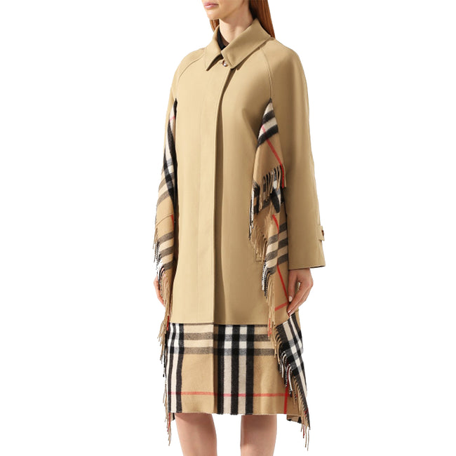 Burberry Gabardine Cotton Car Coat