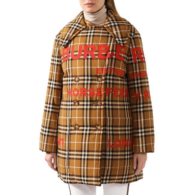 Burberry Horseferry Logo Padded Coat