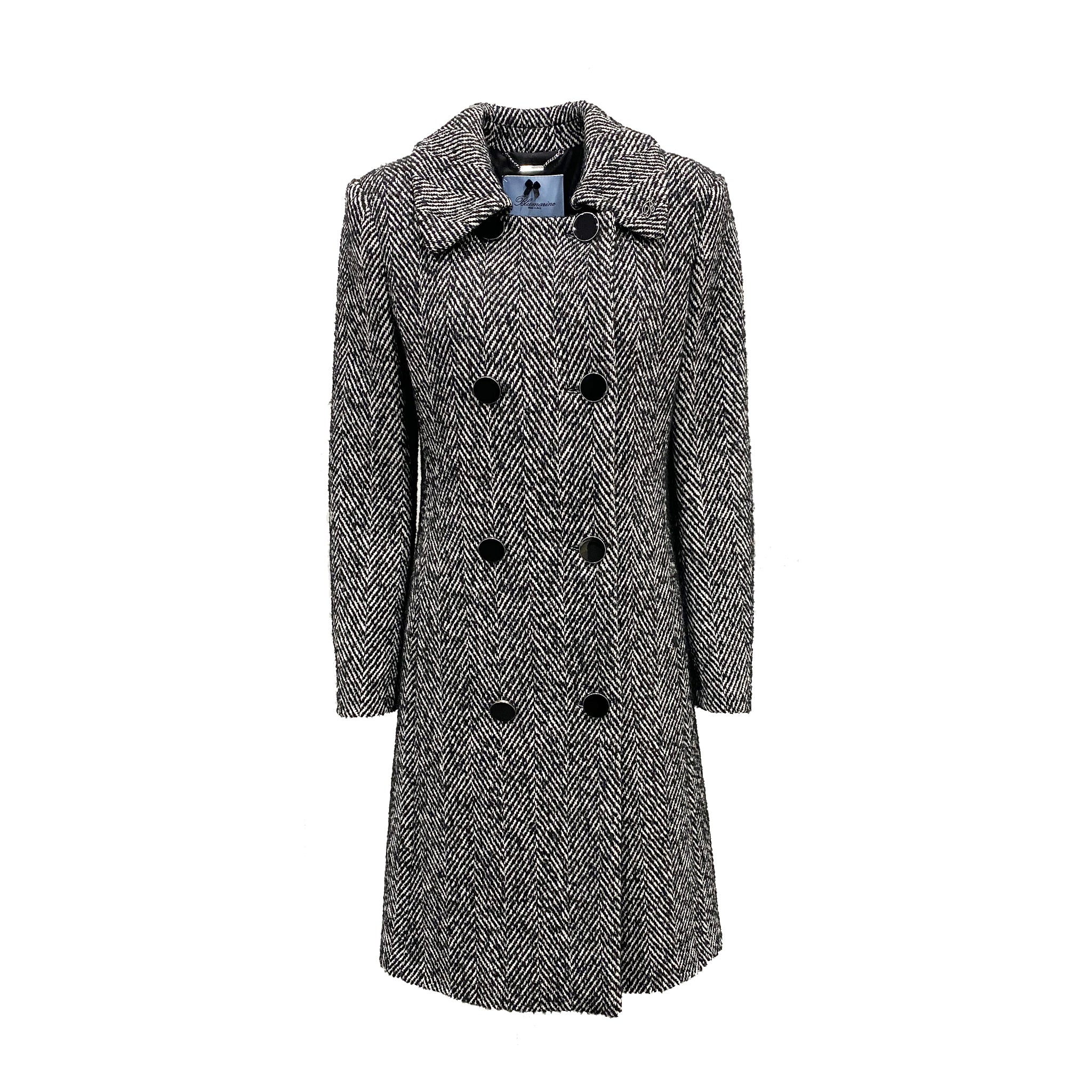 Blumarine Double-Breasted Coat