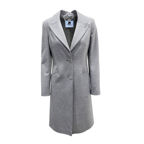 Blumarine Single-Breasted Wool Coat