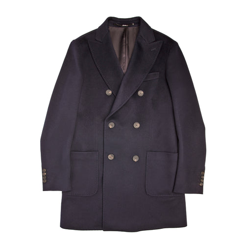 Heresis Double-Breasted Wool Coat