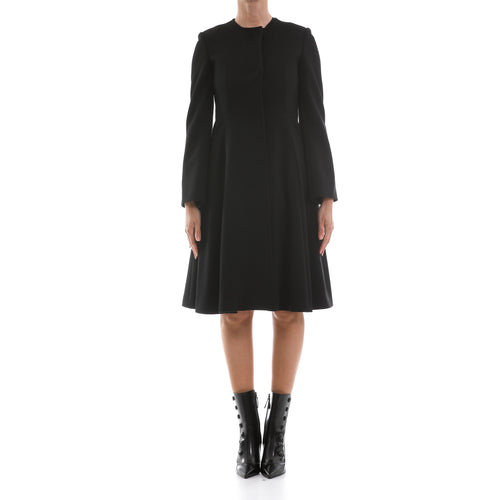 Heresis Flared Wool Coat-HERESIS-SHOPATVOI.COM - Luxury Fashion Designer