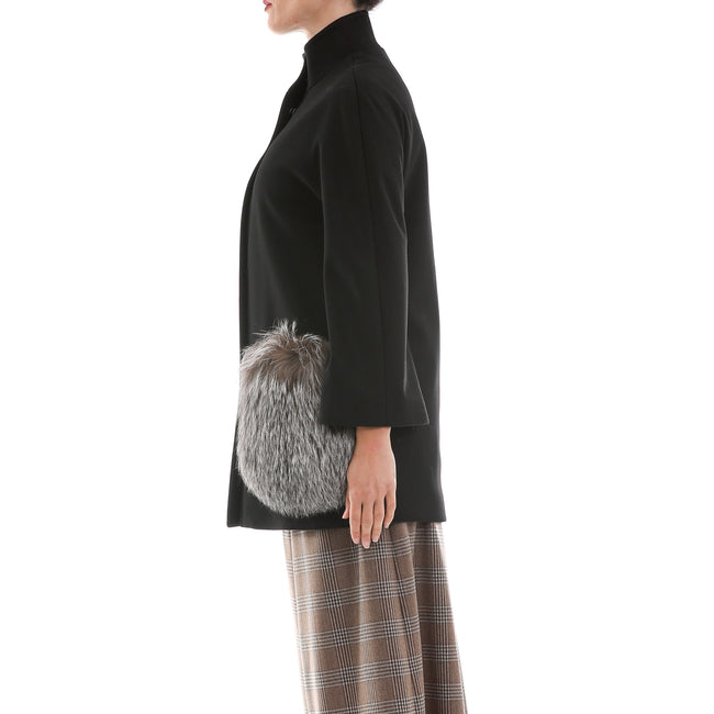 Heresis Short Flared Wool Coat-HERESIS-SHOPATVOI.COM - Luxury Fashion Designer