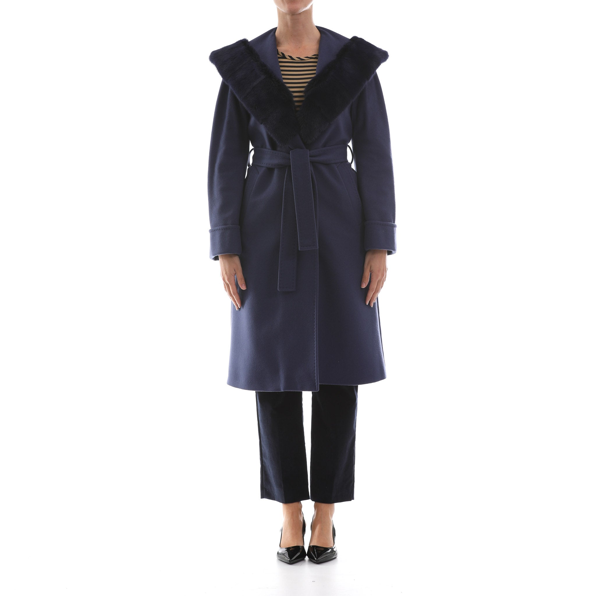 Heresis Wool And Cashmere Hooded Coat-HERESIS-SHOPATVOI.COM - Luxury Fashion Designer