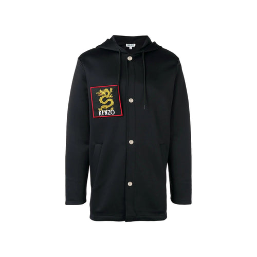 Kenzo Dragon Patch Hooded Jacket