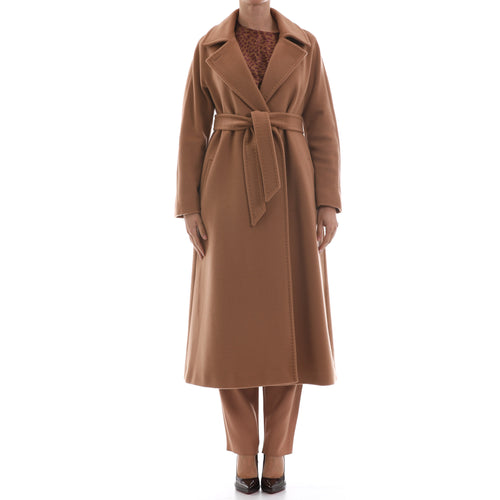 Max Mara Studio Wraparound Wool Coat-MAX MARA STUDIO-SHOPATVOI.COM - Luxury Fashion Designer