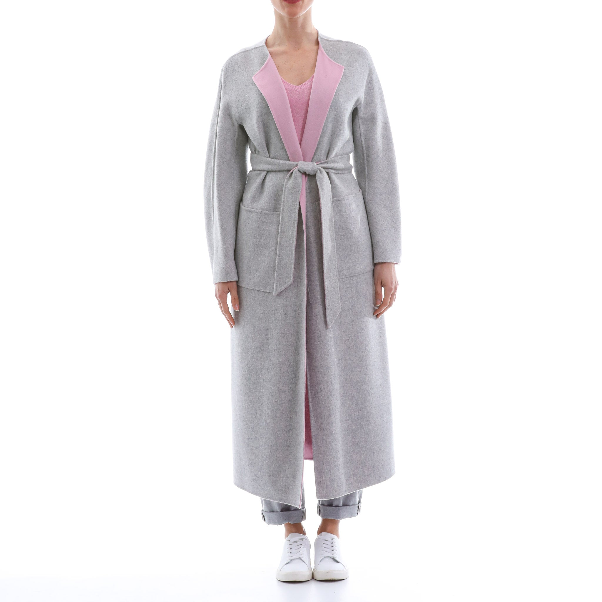 Max Mara Studio Reversible Wool Coat