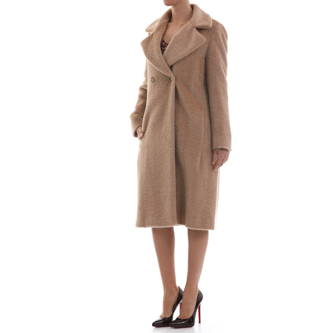 Max Mara Studio Double-Breasted Wool Coat-MAX MARA STUDIO-SHOPATVOI.COM - Luxury Fashion Designer