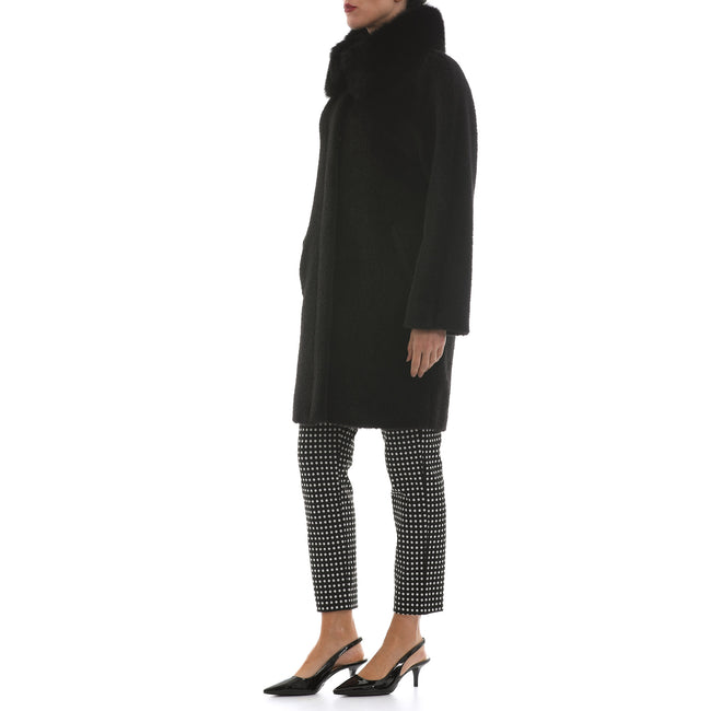 Max Mara Studio Wool-Alpaca Blend Coat-MAX MARA STUDIO-SHOPATVOI.COM - Luxury Fashion Designer