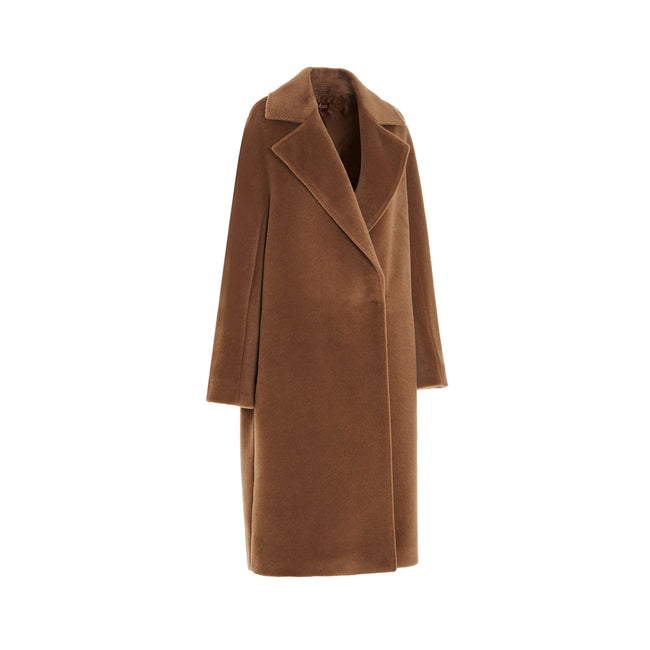 Max Mara Studio Sidney Alpaca And Wool Coat