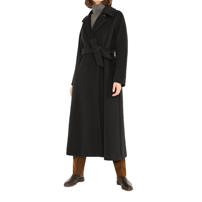Max Mara Studio Cielo Coat In Wool Beaver