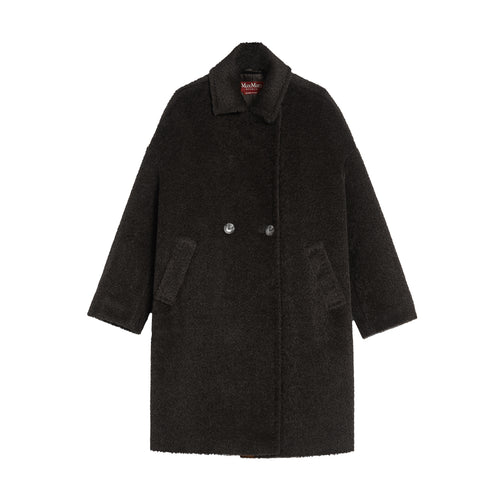 Max Mara Studio Jums Alpaca And Wool Coat