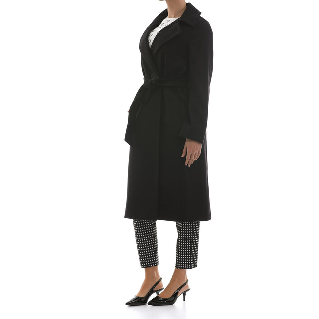 Max Mara Studio Double Breasted Wool Coat-MAX MARA STUDIO-SHOPATVOI.COM - Luxury Fashion Designer
