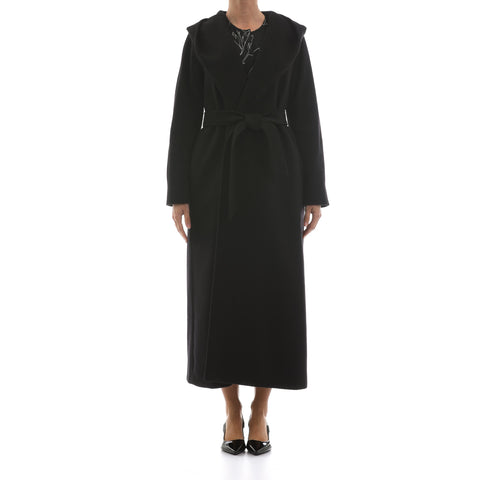 Max Mara Studio Long Wool Coat-MAX MARA STUDIO-SHOPATVOI.COM - Luxury Fashion Designer