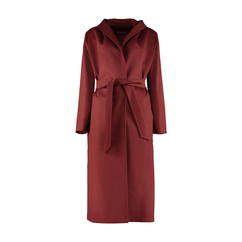 Max Mara Studio Kirsch Wrap Wool Coat