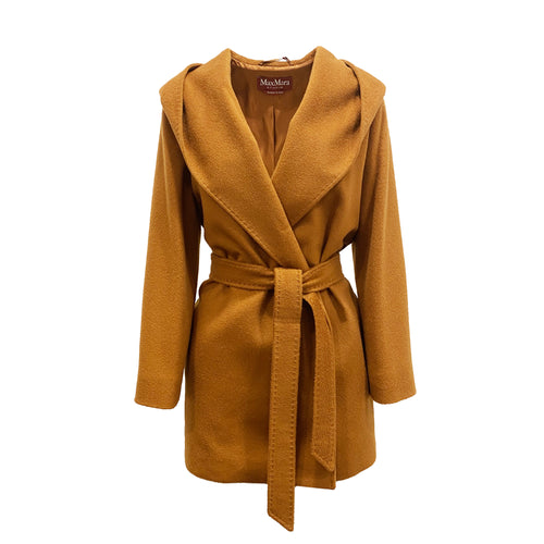 Max Mara Studio March Wrap Wool Coat
