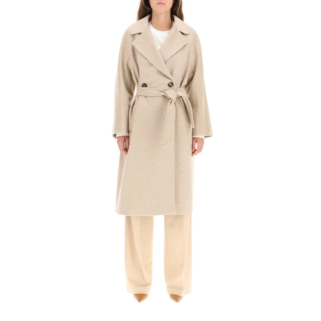 Max Mara Weekend Resina Midi Robe Wool Coat
