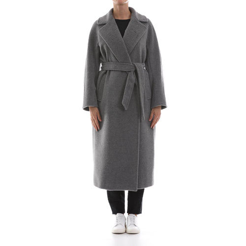 Max Mara Weekend Alpaca Teddy Wrap Coat-MAX MARA WEEKEND-SHOPATVOI.COM - Luxury Fashion Designer