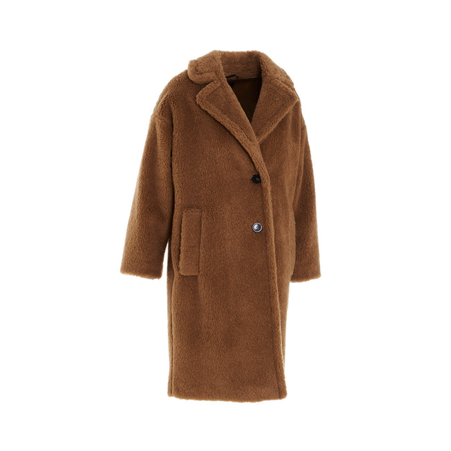 Max Mara Weekend Palato Wool Blend Teddy Coat
