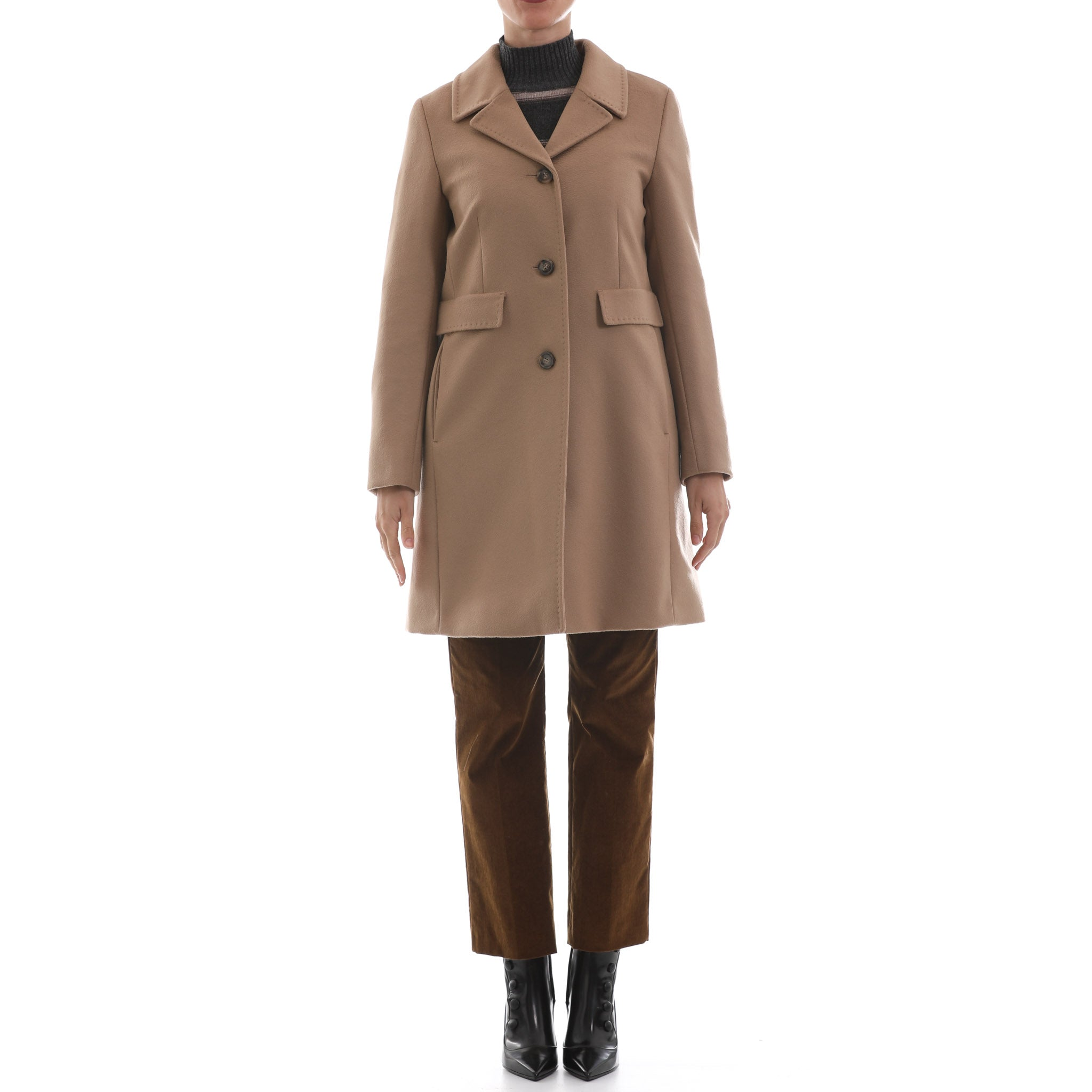 Max Mara Weekend Wool Coat-MAX MARA WEEKEND-SHOPATVOI.COM - Luxury Fashion Designer