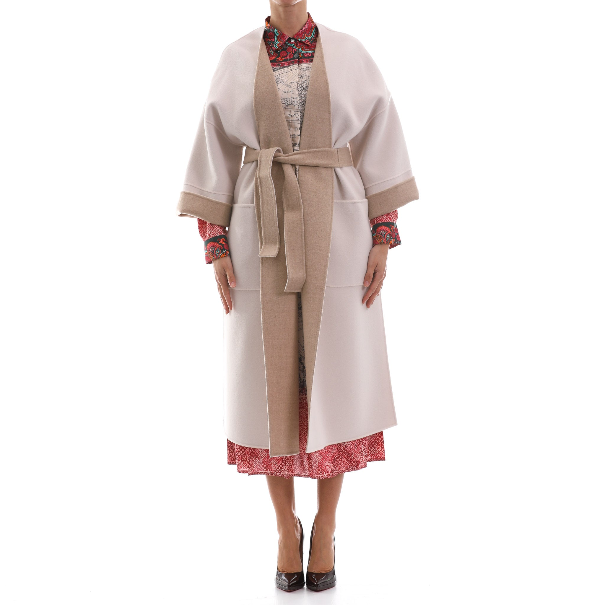 Max Mara Weekend Reversible Wool Coat-MAX MARA WEEKEND-SHOPATVOI.COM - Luxury Fashion Designer