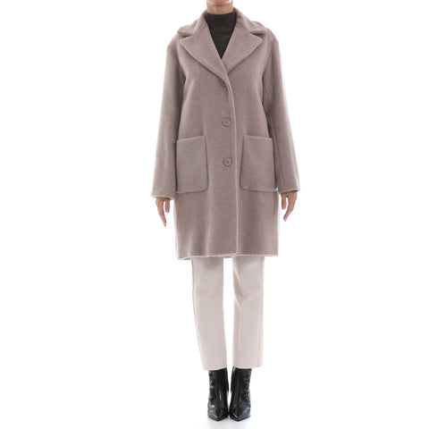 Max Mara Weekend Wool And Alpaca Teddy Coat-MAX MARA WEEKEND-SHOPATVOI.COM - Luxury Fashion Designer